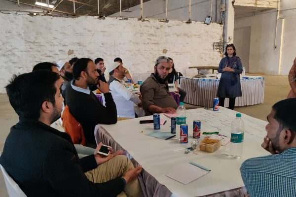 Participatory design workshop with the e-waste dismantlers of North East Delhi