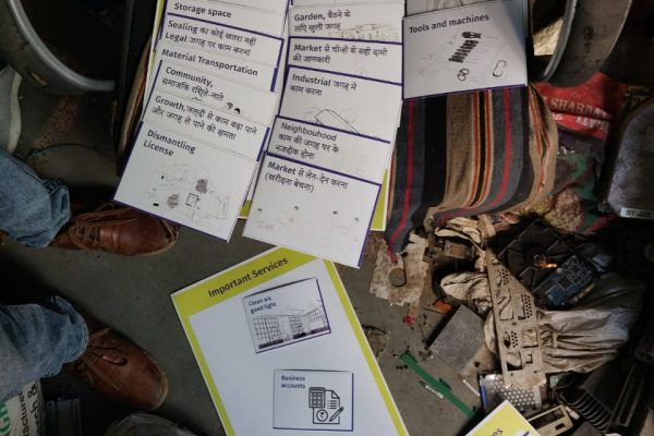 Toolkit used to interact with e-waste dismantlers to understand their requirements